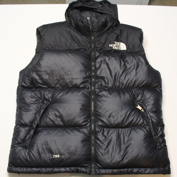 6a11bb0a1 Vintage North Face mens vest Nuptse 700 Goose Down